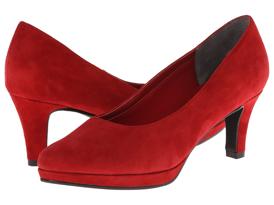Fitzwell Pepe (Red Suede) High Heels