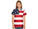 S/S Stars and Stripes Pieced Flag