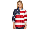 Roper L/S Stars and Stripes Pieced Flag