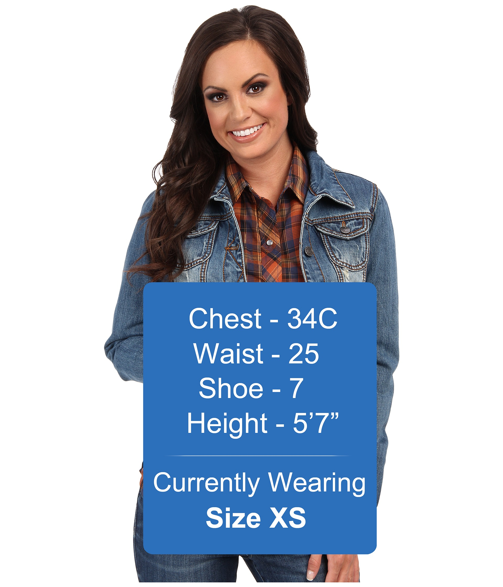 Women's plus size jeans jackets « Clothing for large ladies