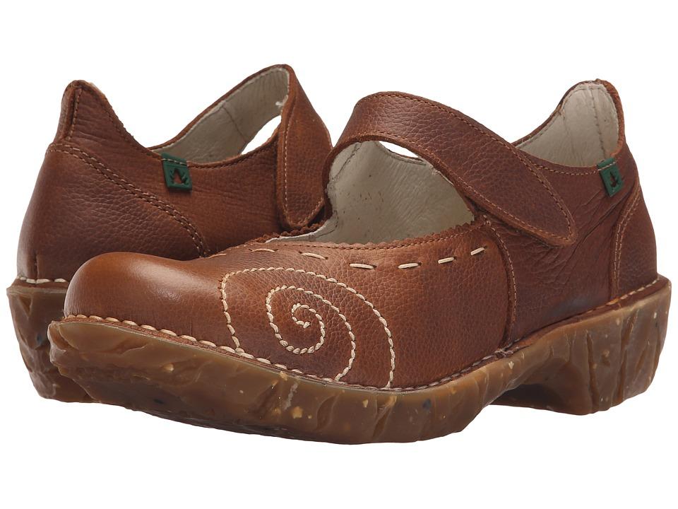 El Naturalista Yggdrasil N095 (Wood) Maryjane Shoes