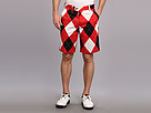 Loudmouth Golf Red White Black Short