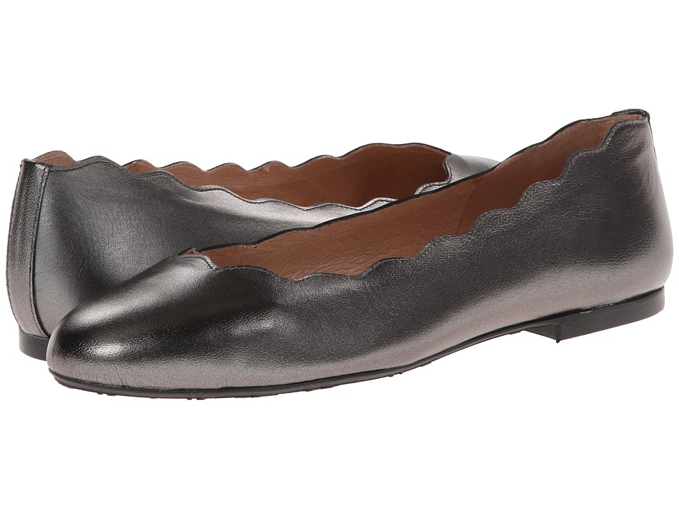 French Sole Jigsaw (Pewter Metallic) Women