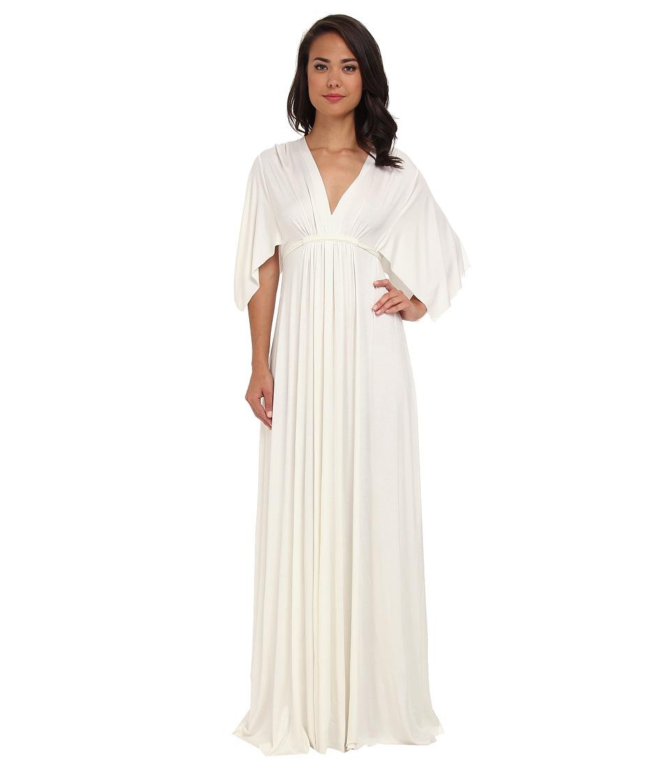 Rachel Pally Long Caftan Dress (White) Women's Dress
