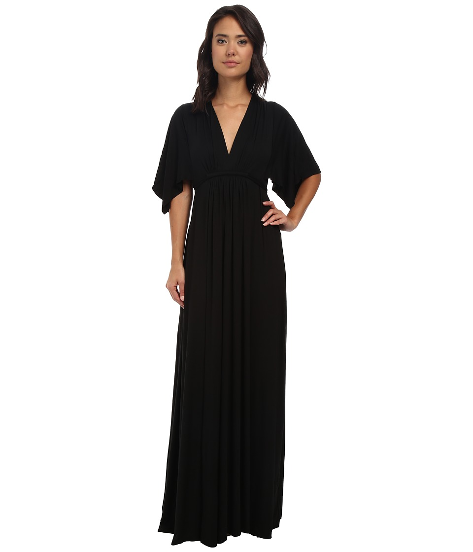 Rachel Pally Long Caftan Dress Black Womens Dress