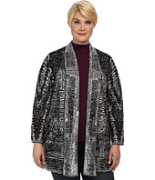 NIC+ZOE - Plus Size Digital Dreams Cardy