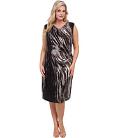 NIC+ZOE - Plus Size Oil Painting Dress