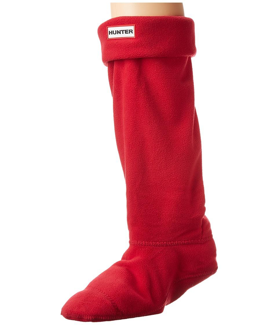 Hunter Boot Socks (Red) Women's Crew Cut Socks Shoes