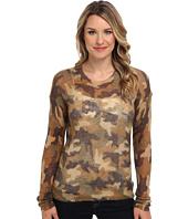 MICHAEL Michael Kors - L/S Camo Mohair Sweater