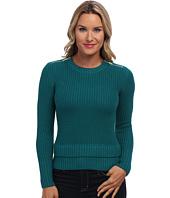 MICHAEL Michael Kors - L/S Crew Zip Sweater
