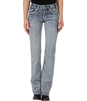 Rock and Roll Cowgirl - Mid Rise Boot Cut in Light Wash
