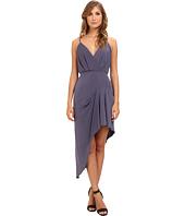 BCBGeneration - Sleeveless V-Neck Asym Shirt Cocktail Dress YDM68B49