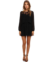 BCBGeneration - Crop Top Dress with Lace VDW68B33