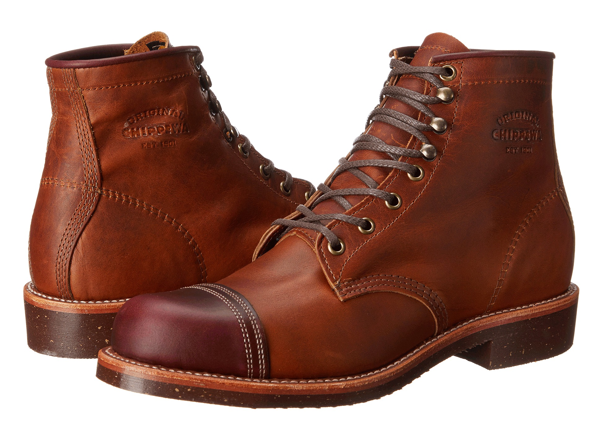 "Chippewa 6"" Homestead Boot Tan Renegade/Crodovan"