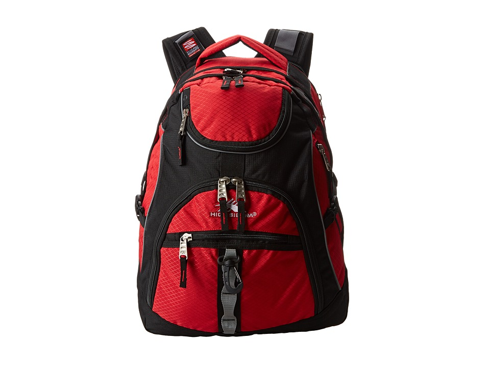 High Sierra - Access Backpack (Crimson/Black) Backpack Bags