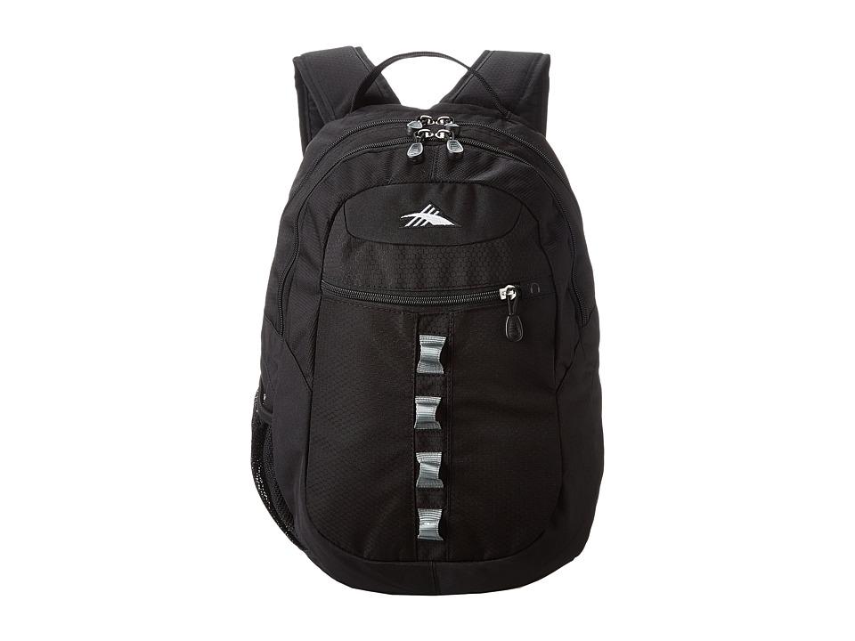 High Sierra Opie Backpack Black/Black/Black Backpack Bags