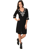 Roper - 9375 Poly Rayon Jersey V-Neck Dress