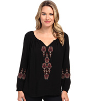 Karen Kane - Embroidered Peasant Top
