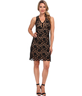 Karen Kane - V-Neck Sleeveless Lace Dress