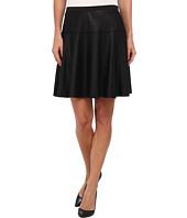 Karen Kane - Faux Leather Skate Skirt