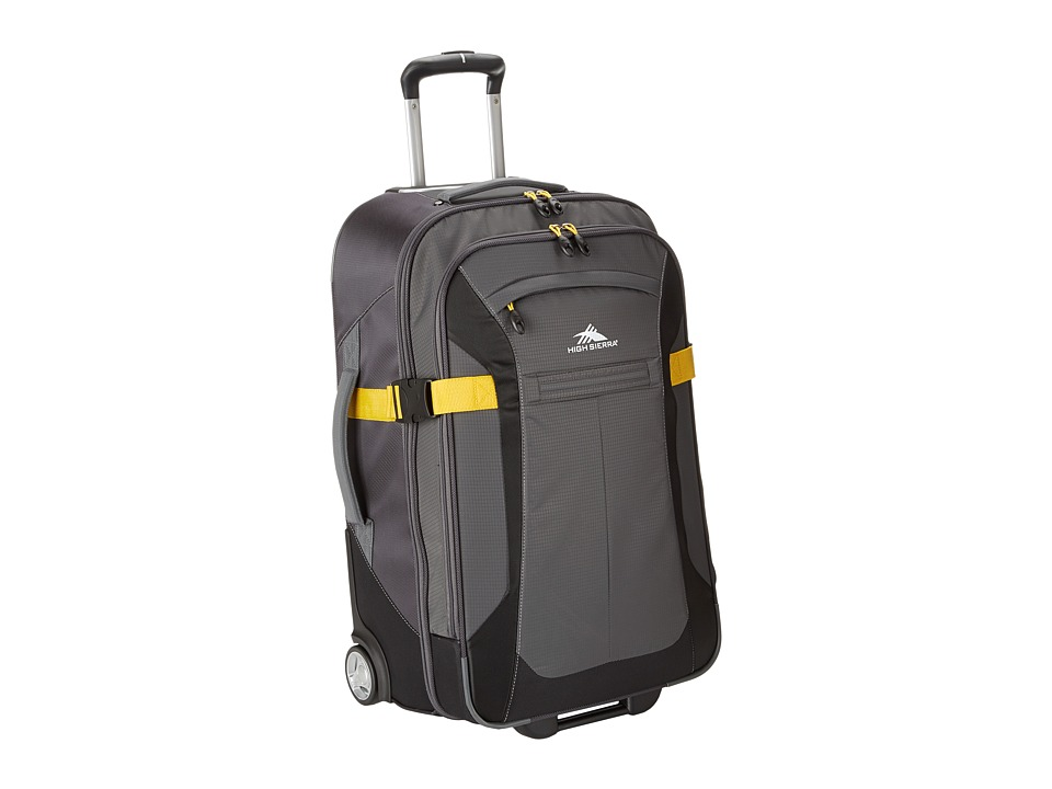 High Sierra Sportour 25 Wheeled Upright Grey/Mercury/Black/Sunflower Pullman Luggage