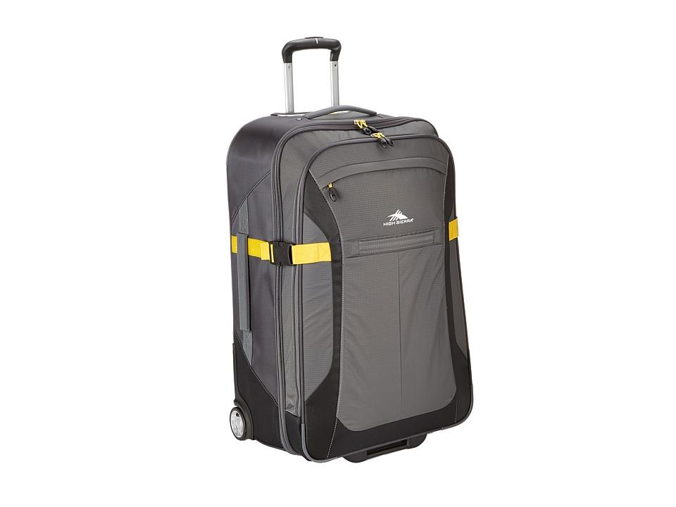 High Sierra Sportour 30 Wheeled Upright Grey/Mercury/Black/Sunflower Pullman Luggage