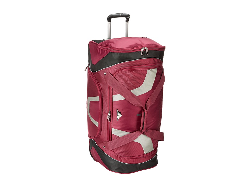 High Sierra - AT7 30 Wheeled Cargo Duffel (Boysenberry) Duffel Bags