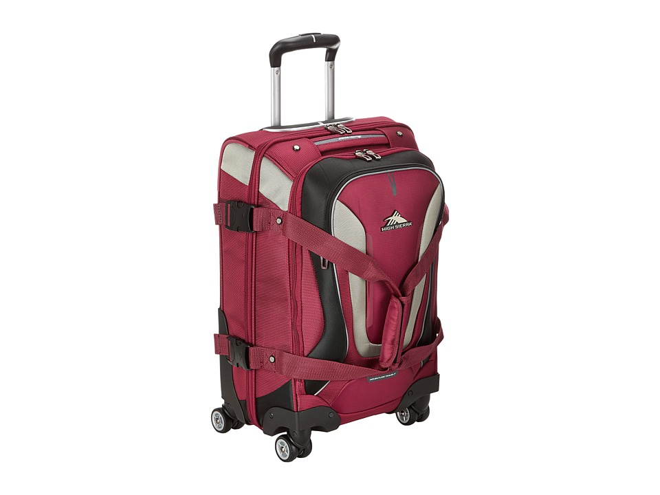 High Sierra - AT7 Carry-on Spinner Duffel (Boysenberry) Duffel Bags