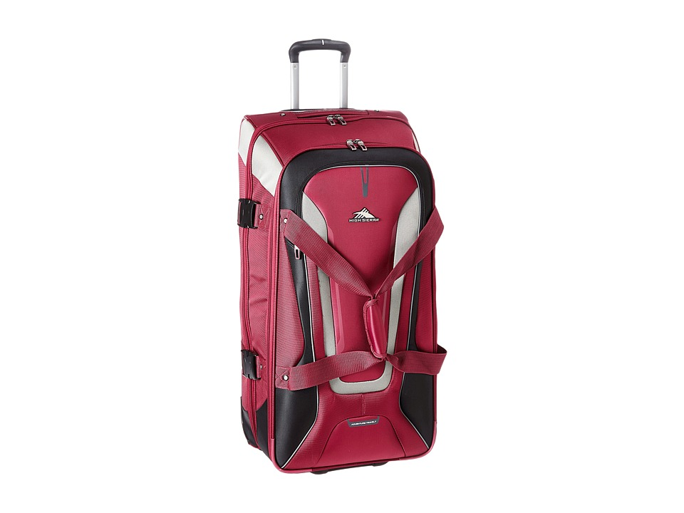 High Sierra - AT7 32 Wheeled Duffel (Boysenberry) Duffel Bags