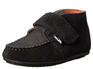 Venettini Kids 55-Bruno (Toddler) (Black Suede/Black Corduroy Leather)