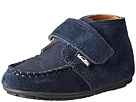 Venettini Kids 55-Bruno (Toddler) (Navy Suede/Navy Corduroy Leather)