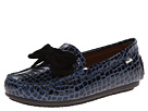 Venettini Kids 55-Denise (Little Kid) (Navy Croc Patent)