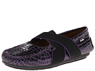 Venettini Kids 55-Daisy (Little Kid/Big Kid) (Purple Croc Patent)