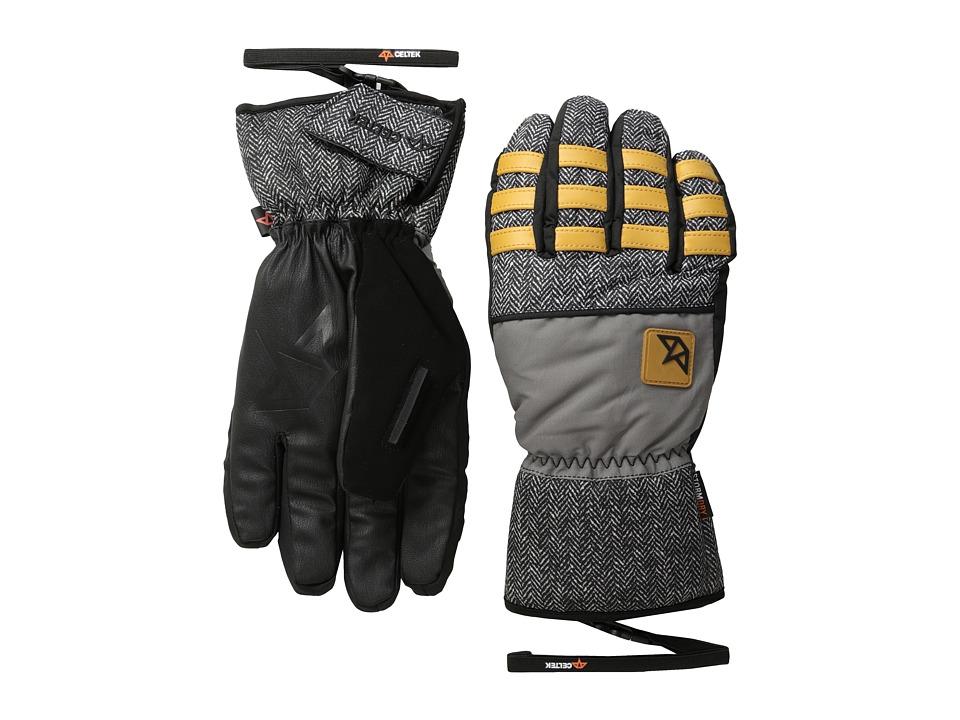 Celtek Ace Gloves Granite Snowboard Gloves