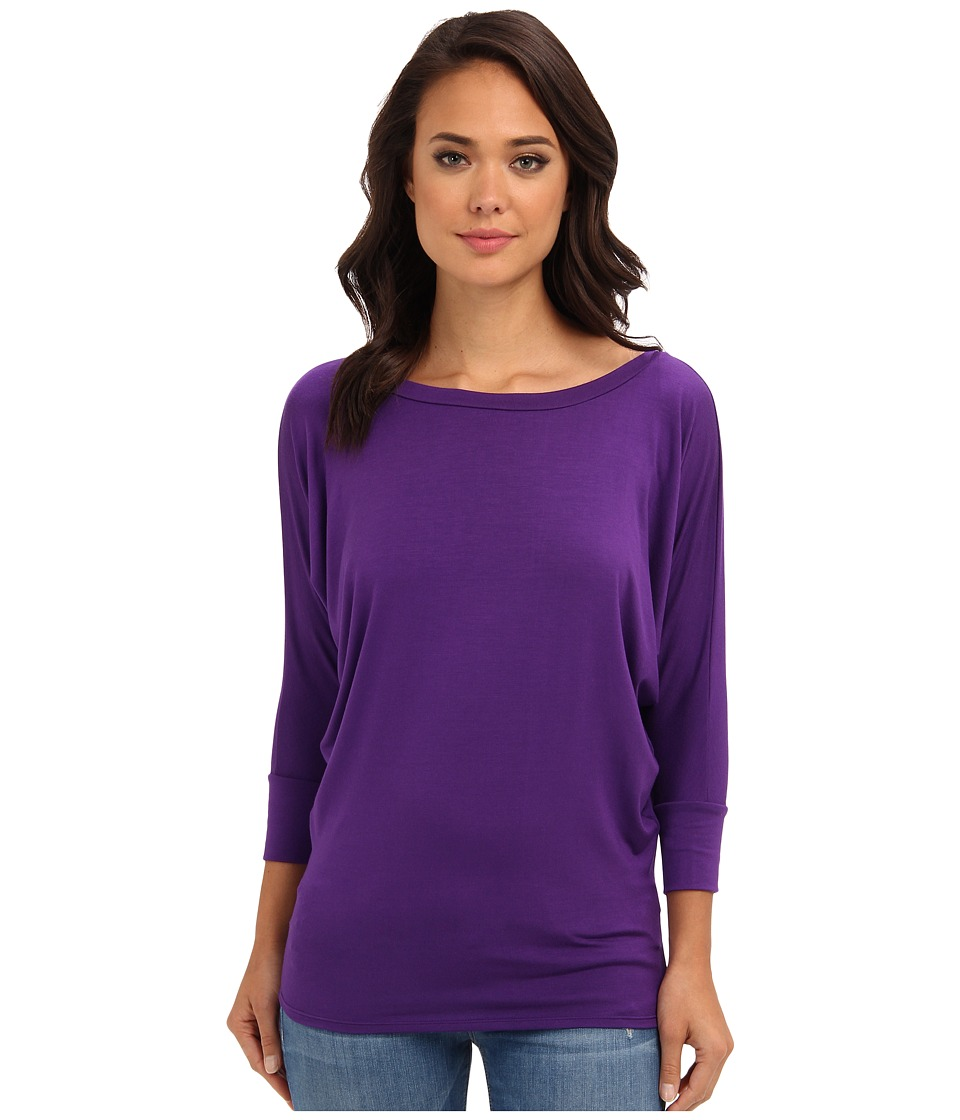 Culture Phit Lara Modal Top (Eggplant) Women