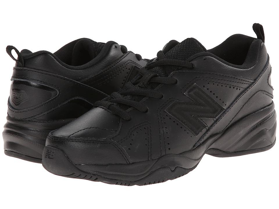 New Balance Kids - KX624 (Little Kid/Big Kid) (Black) Kids Shoes