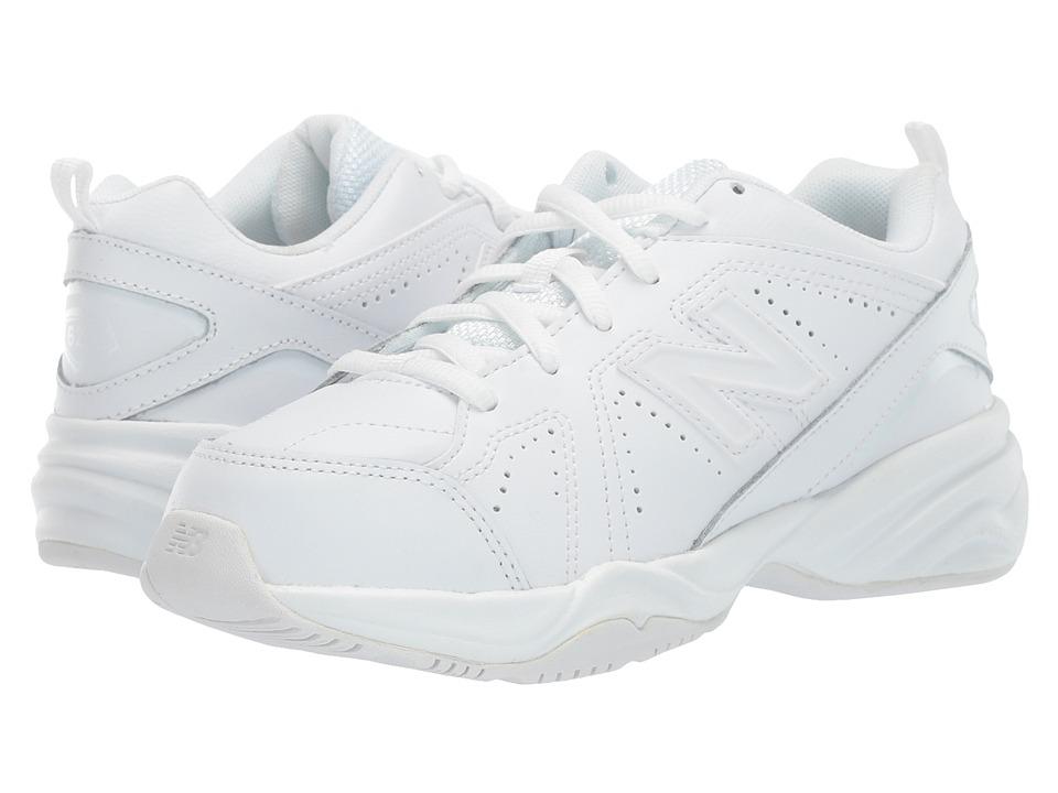 New Balance Kids - KX624 (Little Kid/Big Kid) (White) Kids Shoes