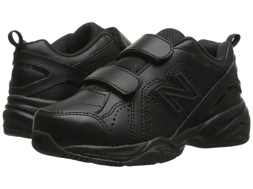 New Balance Kids KV624 (Little Kid/Big Kid) (Black) Kids Shoes