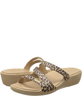 Crocs - Patricia Leopard Wedge