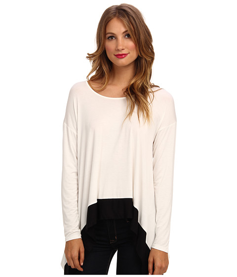 kensie Lightweight Viscose MB Top