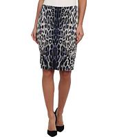Karen Kane - Leopard Print Textured Skirt