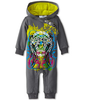Versace Kids - Hooded Romper w/ Graphics (Infant)