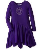 Versace Kids - L/S Dress w/ Medusa Logo (Toddler/Little Kid)