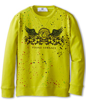 Versace Kids - L/S Tee w/ Paint Splash And Wings (Toddler/Little Kid)