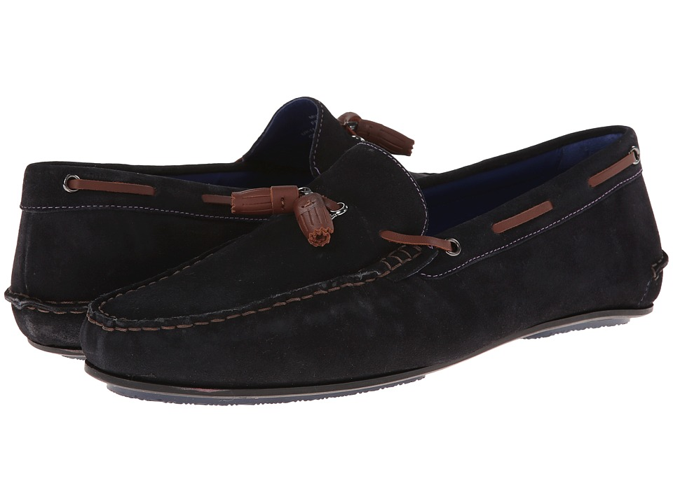 Ted Baker Muddi (Dark Blue Suede) Men