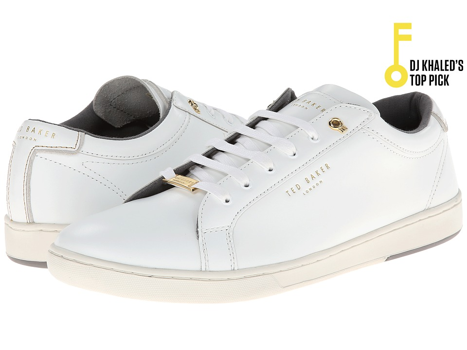 Ted Baker Theeyo (White Leather) Men
