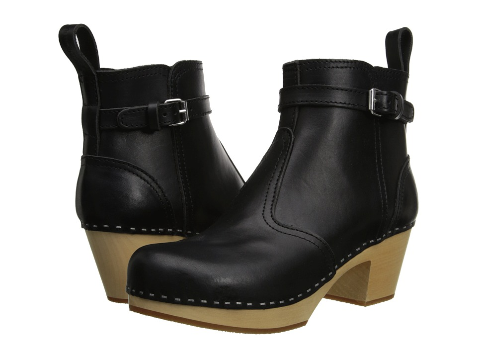 Swedish Hasbeens Jodhpur (Black) Women