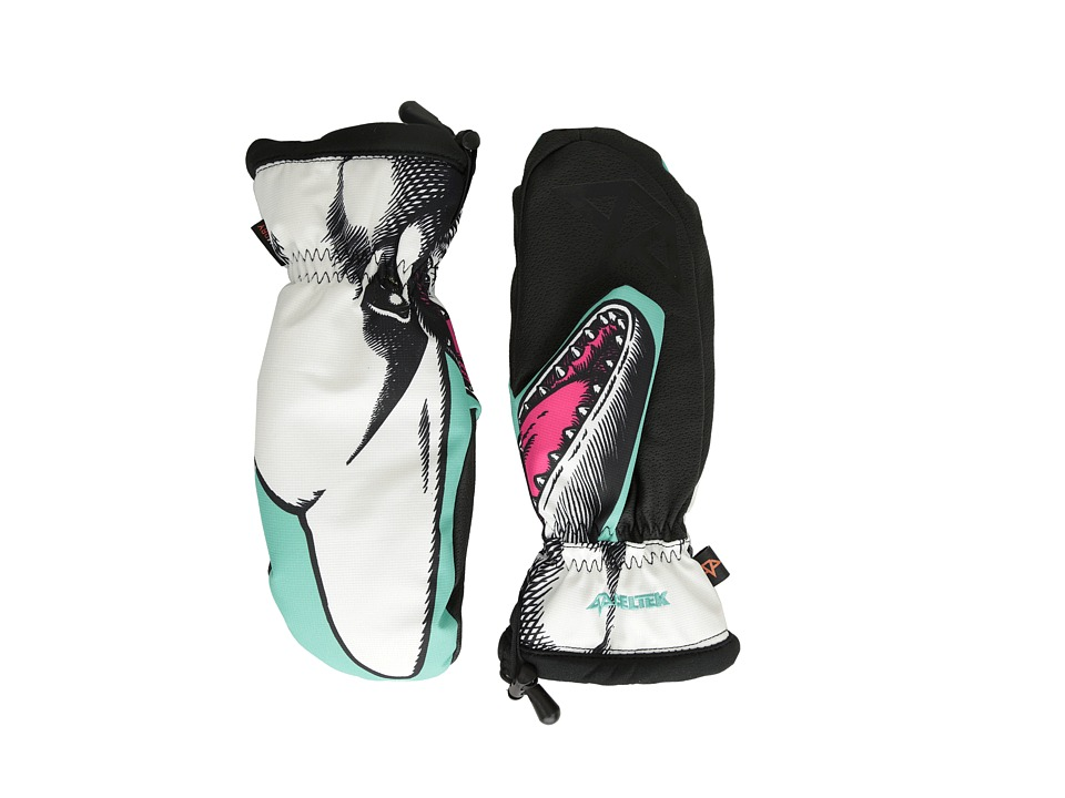 Celtek Bitten By a Womitten Gloves Flip Er Snowboard Gloves