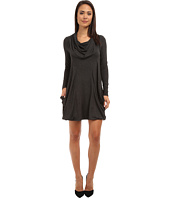 kensie - Cowl Neck Pocket Dress