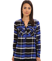 kensie - Yarn Dyed Plaid Shirt